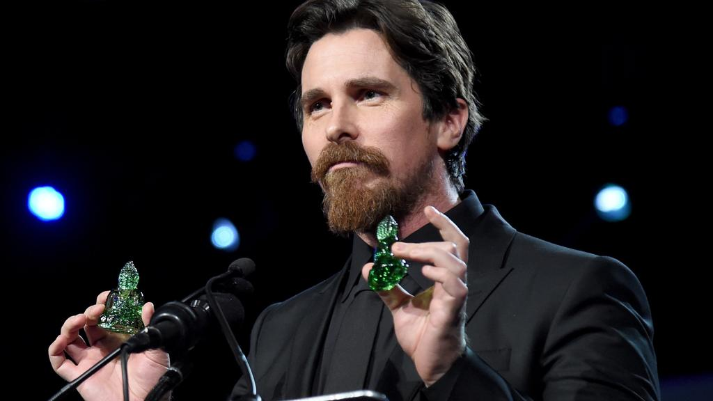 Christian Bale also features in the film. Picture: Jason Merritt/Getty Images for PSIFF