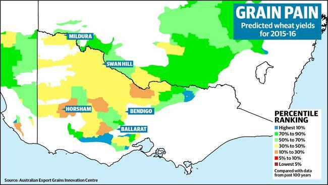 Australian Export Grain Innovation Centre maps show Victorian wheat
