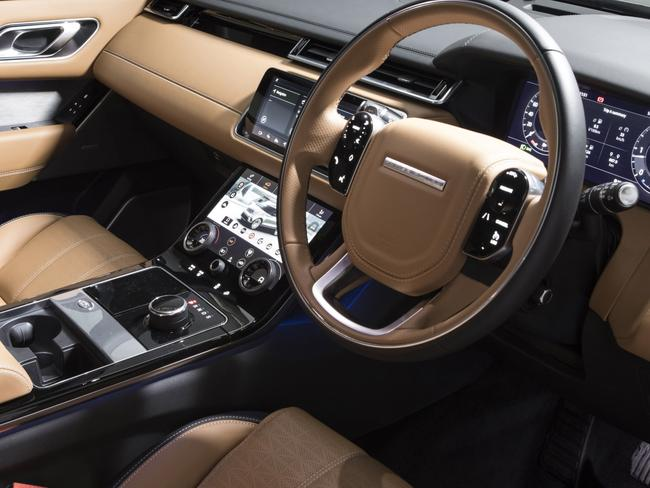 A dual-screen display helps trim the button-count on the dash and centre console.  <i>Source: Supplied</i>