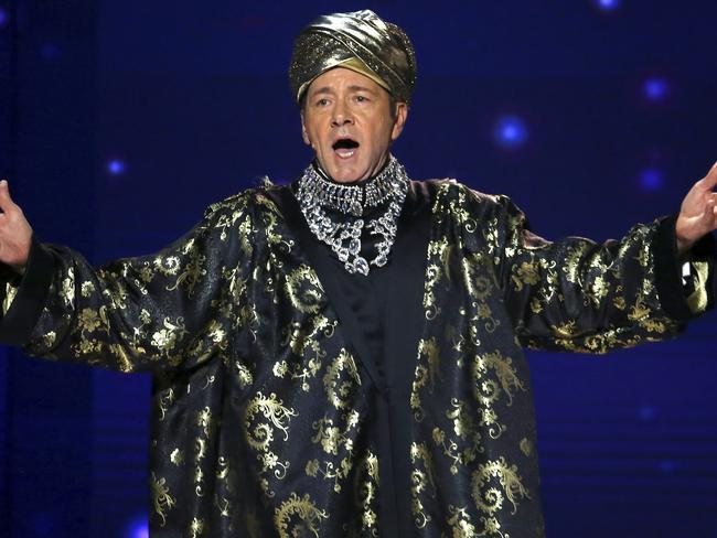 Kevin Spacey gets his Norma Desmond on. Picture: AP