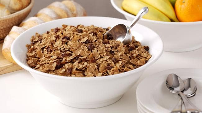 Cereals are a main source of fibre, which promotes good gut health.