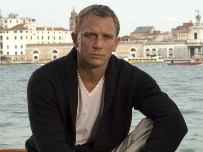 You can still be rough and tough and look after yourself – as actor Daniel Craig (aka 007) proves.