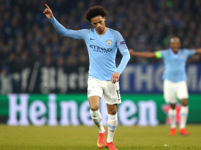Leroy Sane has been out with a knee injury.
