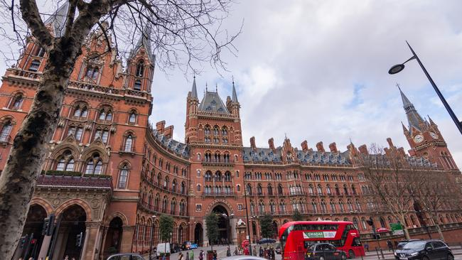 Security check only took 15 minutes when taking the train from Kings Cross-St Pancras, London. Picture: iStock