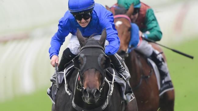 Gongs is among Godolphin's runners at Royal Randwick on Saturday. Picture: AAP