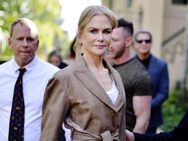 Nicole Kidman has given $500,000 to the RFS. Picture: Jerod Harris/Getty