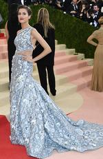 "Allison Williams attends the ""Manus x Machina: Fashion In An Age Of Technology"" Costume Institute Gala at Metropolitan Museum of Art on May 2, 2016 in New York City. Picture: Larry Busacca/Getty Images"