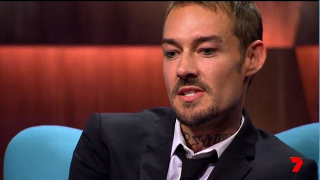 Daniel Johns' first talk show appearance in 12 years will air on Tuesday night. Picture: Supplied