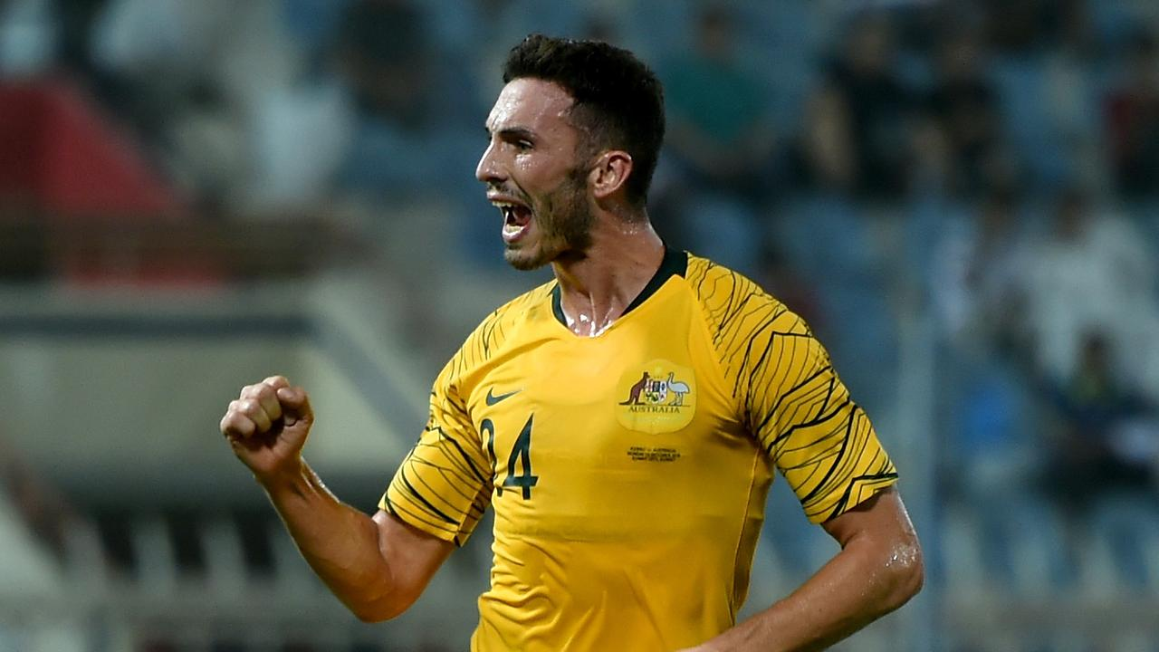 Apostolos Giannou has been left out of the Socceroos squad despite scoring last game.