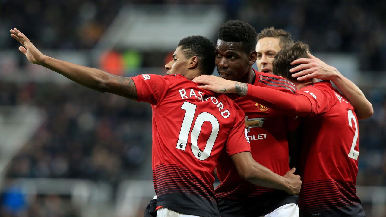 Manchester United forwards are thriving under Ole Gunnar Solskjaer.