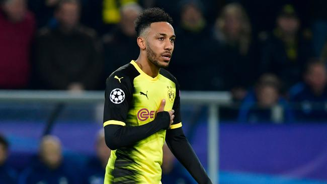 Pierre-Emerick Aubameyang has been linked with a move to China