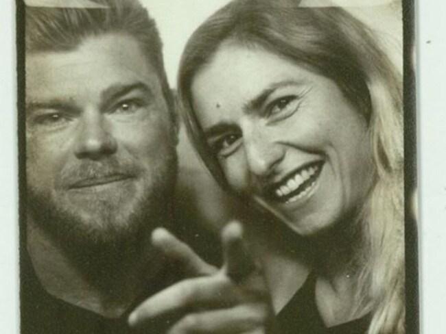 Instagram photo of Sam Loch with fiancee Frances Abbott