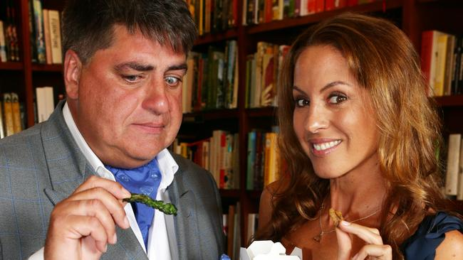 Matt Preston helped Sarah Wilson launch her successful I Quit Sugar cookbook.