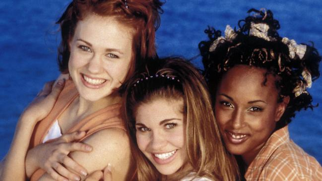 <i>Boy Meets World</i> stars Maitland Ward, Danielle Fishel and Trina McGee. Picture: Alamy