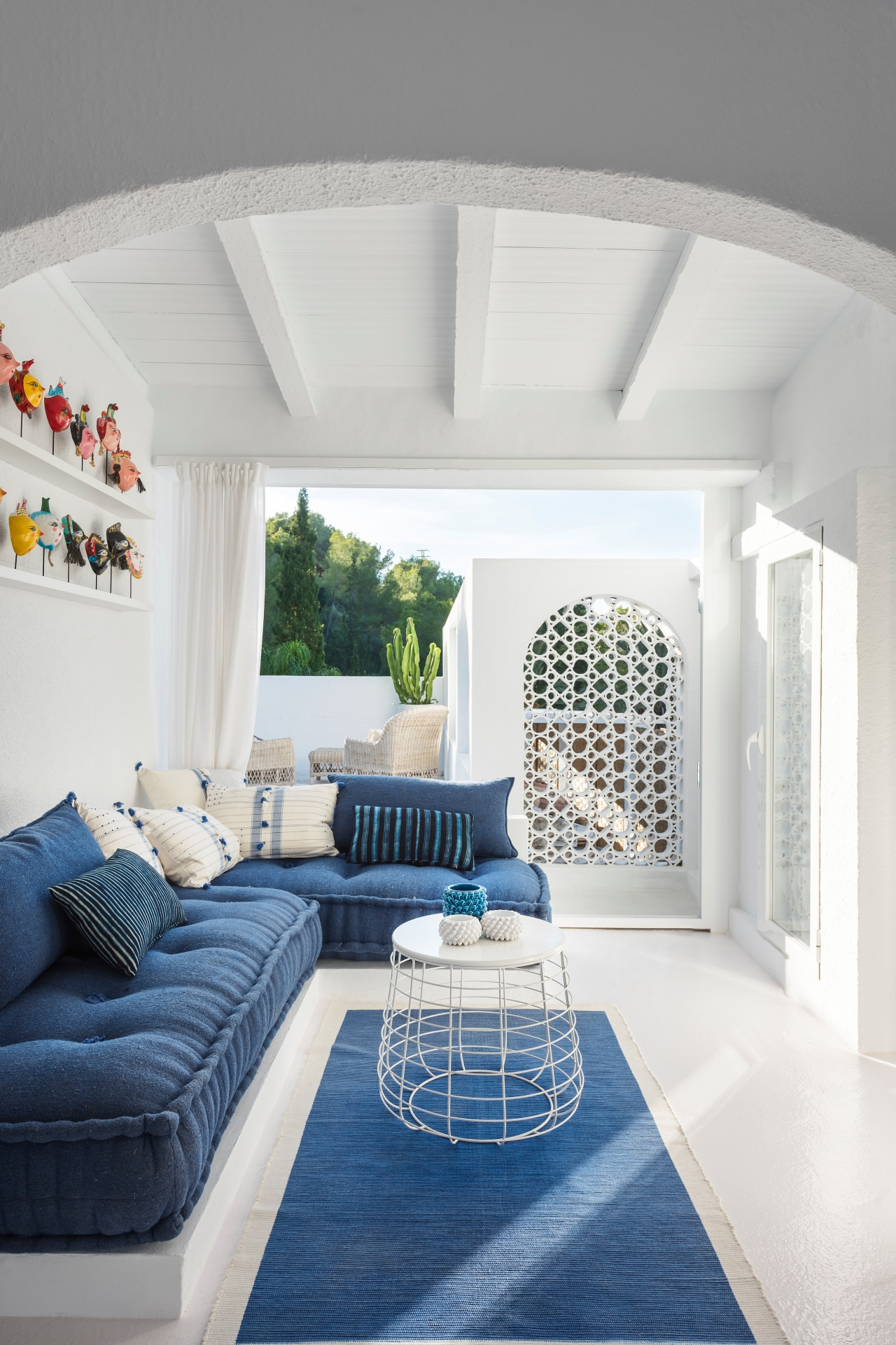 House tour: an interior designer's Spanish hideaway