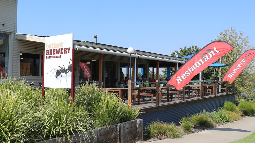 Bullant Brewery owner Neil Triggs is open for business. Picture: Alex Coppel