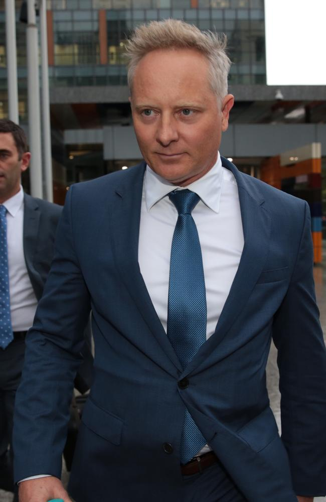 Celebrity financial adviser Sam Henderson agreed it was 'most likely' he got staffers to impersonate a client who he gave disastrous advice. Picture: Stefan Postles