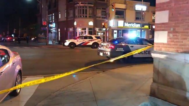 Toronto shooting.