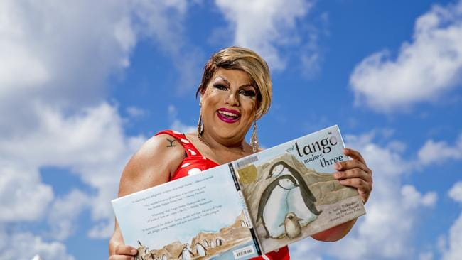 Gold Coast drag queen Dame Martini Fernando Ice. Picture: Jerad Williams