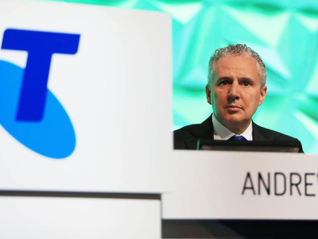 Telstra CEO Andrew Penn warns of challenging years due to NBN and