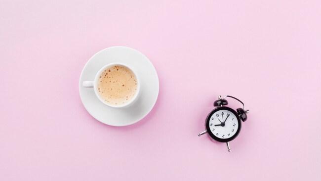 Caffeine o'clock. Photo: Julia_Sudnitskaya/iStock by Getty.