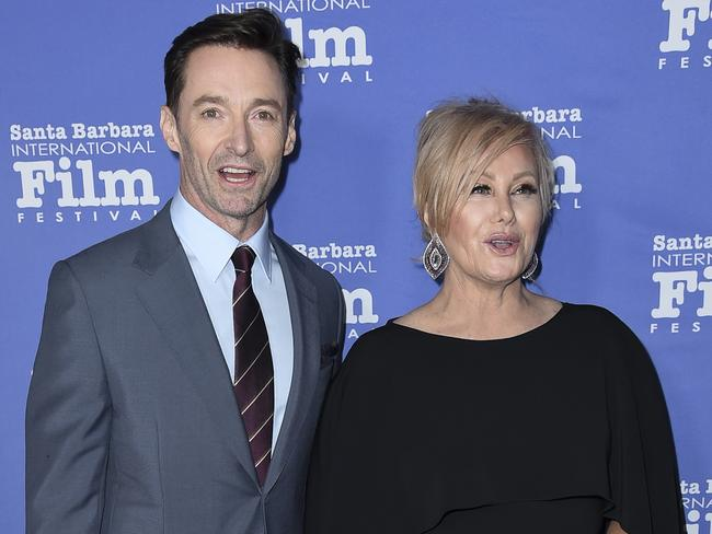 Hugh Jackman said wife Deborra-lee Furness will join him on the road. Picture: AP