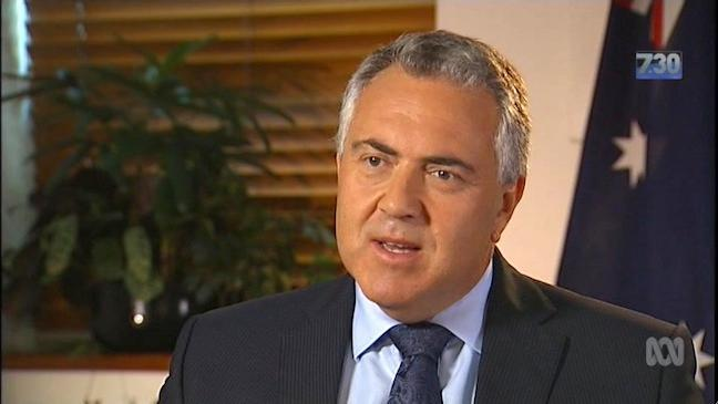 Joe Hockey - I am not a quitter