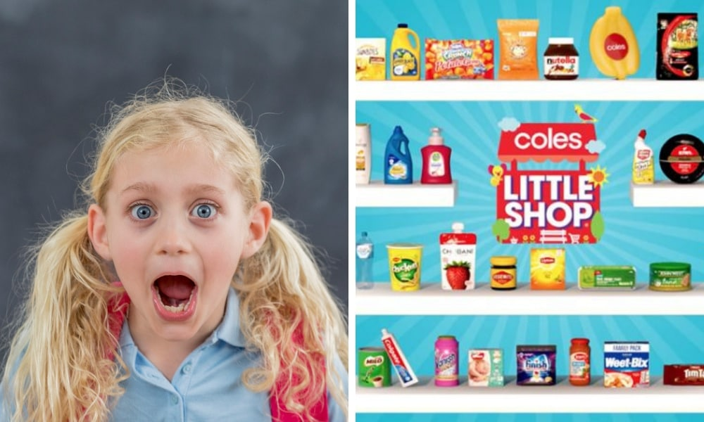 Shoppers are losing it over rumours of a Coles Back To School Little Shop range