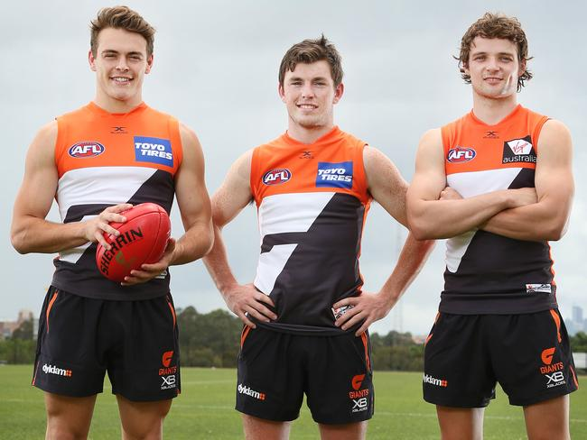 Zac Langdon, Brent Daniels and Dylan Buckley.