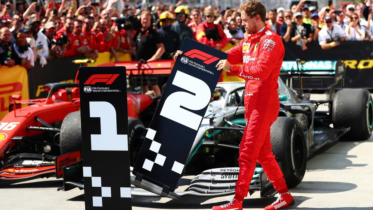 Sebastian Vettel and Ferrari are appealing the decision to award the race-costing penalty.