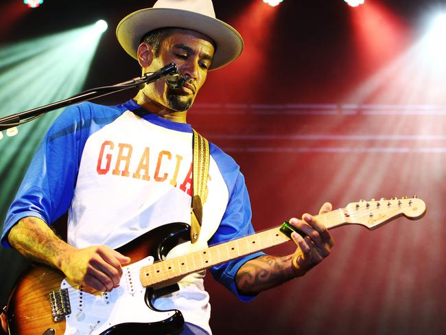Ben Harper and the Innocent Criminals have been playing at Bluesfest since 1996. Picture: News Corp Australia.