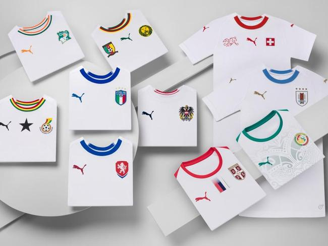 Puma s creative kit launch of ... entirely white kits 95f0277a5