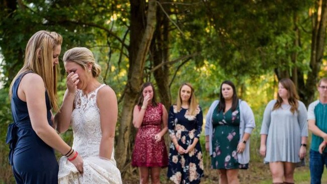 Jessica Padgett was not alone. Picture: Loving Life Photography