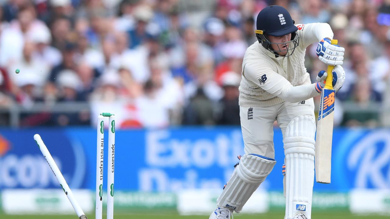 Jason Roy never looked comfortable against the red ball.