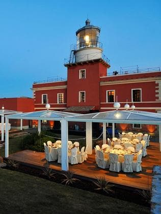 Faro Capo Spartivento (after) was turned into a boutique resort. Picture: Italy state landlord