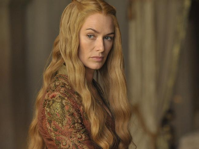 Lena Headey as Cersei Lannister/Baratheon in Game of Thrones.