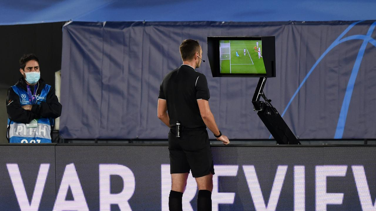 The final goal was disallowed after a VAR review.