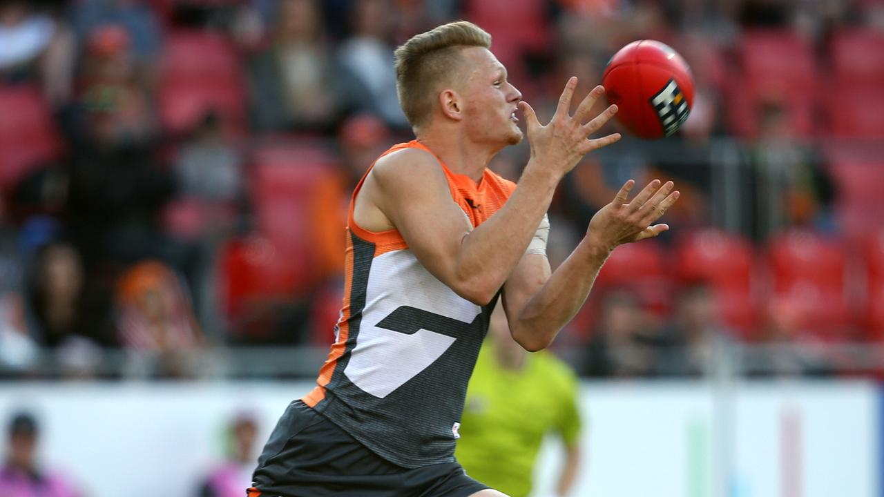 Adam Treloar spent four years at the Giants before being traded to Collingwood. Picture Phil Hillyard