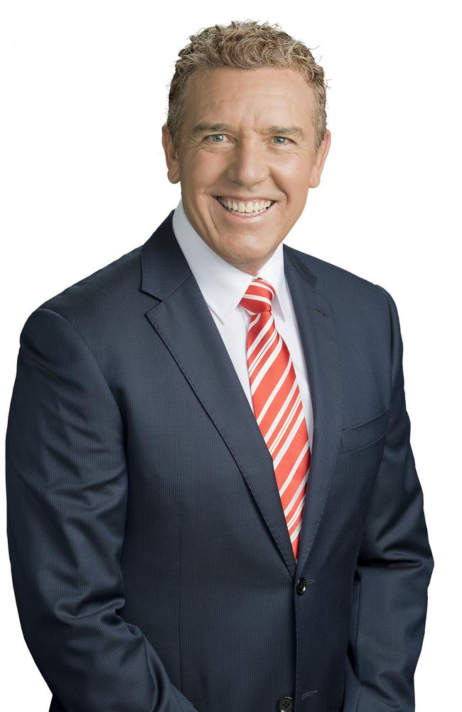 Rob Brough today fronts seven regional news bulletins across Queensland.