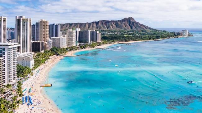 Hawaii is a popular spot for Australians to visit. Picture: iStock