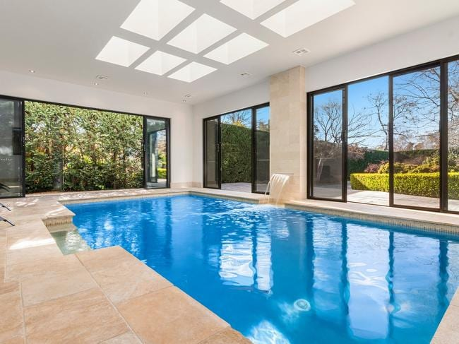 There's a powder room attached to the indoor pool. Picture: realestate.com.au