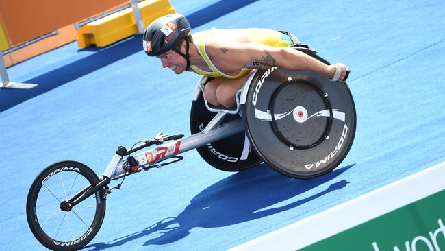 Paratriathlete Nic Beveridge is chasing a spot at the Tokyo Paralympics.