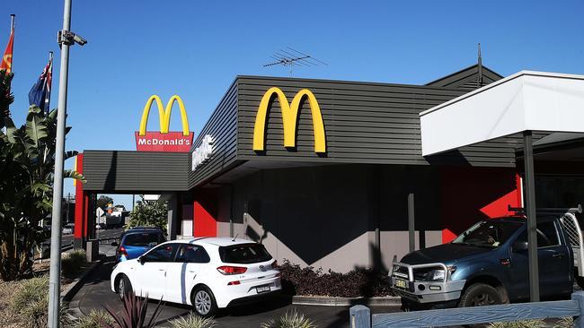 The McDonalds where Mr Joseph was last seen.