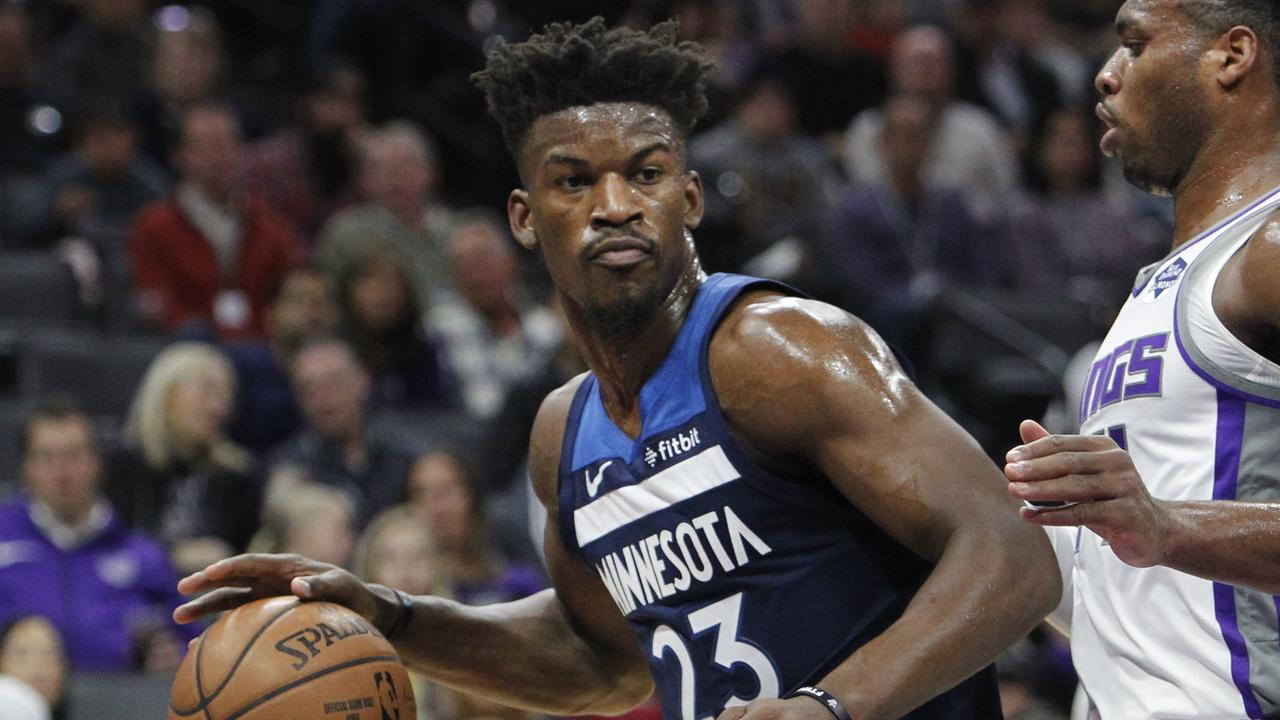 Minnesota Timberwolves guard Jimmy Butler is off to Philadelphia.