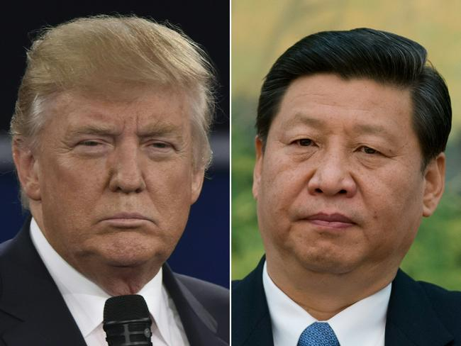 The US-China trade war shows no signs of a resolution as the stand-off between US President Donald Trump (left) and his Chinese counterpart Xi Jinping continues. Picture: AFP