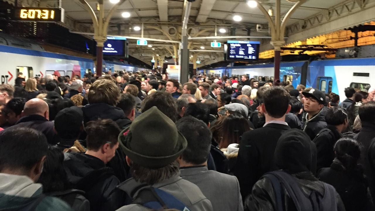 A rising population could lead to regular overcrowding on transport.