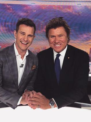 David Campbell with Dickie.