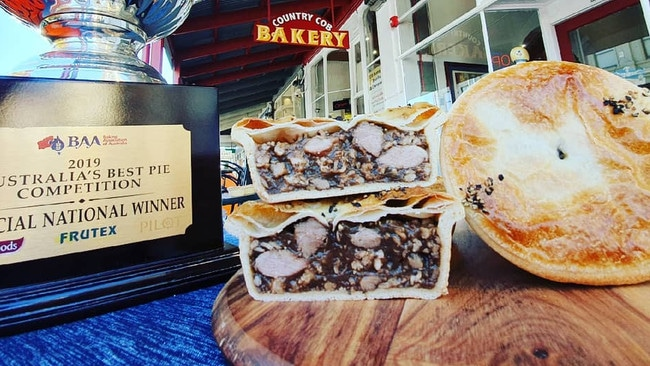 The pork pie is actually gluten free, and the judges said it was the best they'd ever had.