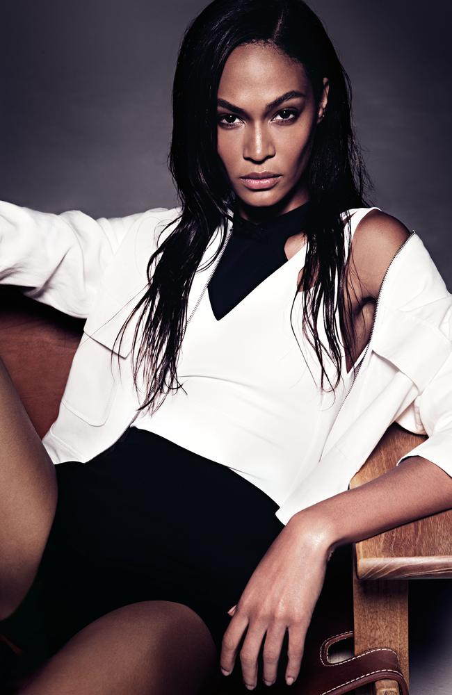 Puerto Rican-born model Joan Smalls.