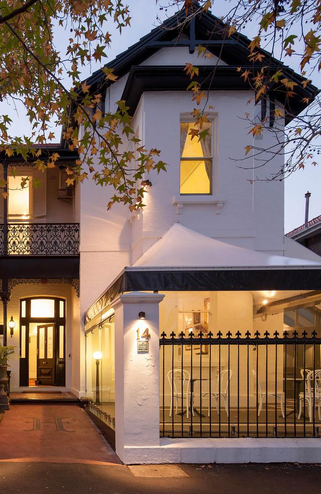 Hughenden Boutique Hotel Woollahra Which Houses Vincent French Restaurant Picture Supplied